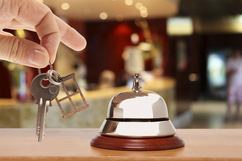 Ключи от гостиничного номера