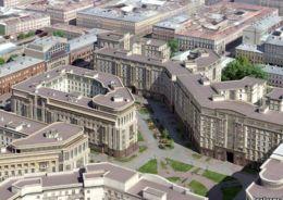 Застройка исторического центра Петербурга