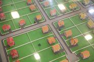 коттеджный поселок макет