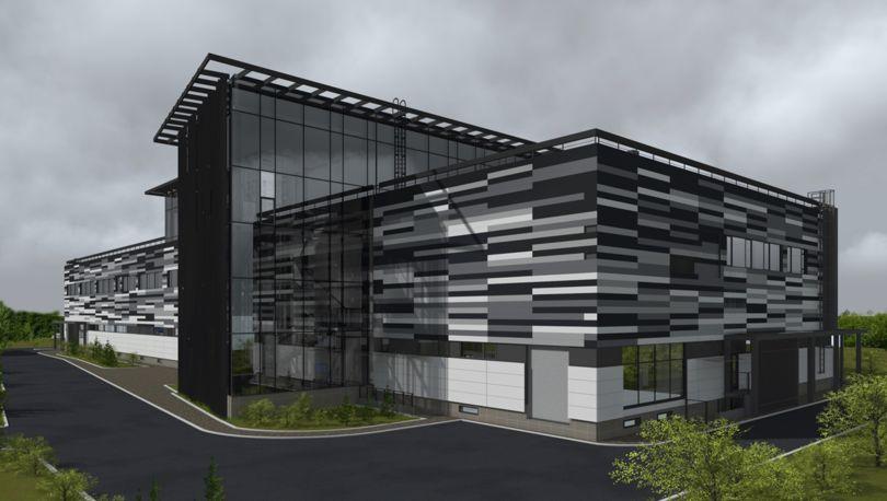 Проект здания ООО «Инмед»