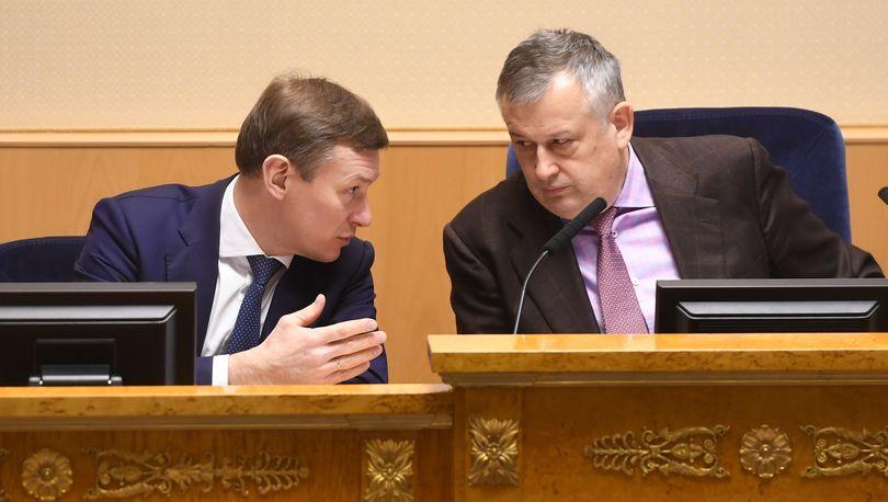 Дрозденко и Москвин