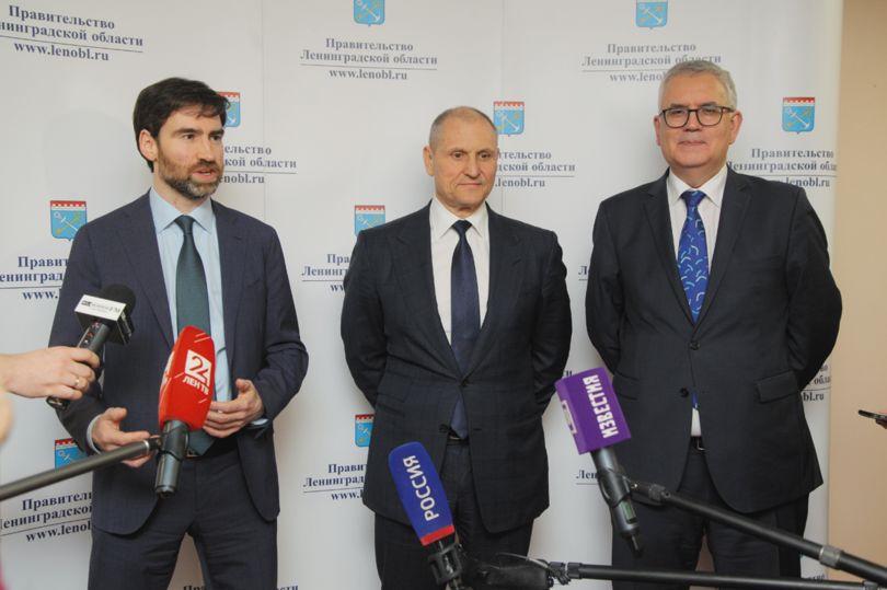Первое заседание Координационного совета Петербурга и Ленобласти в сфере социально-экономического развития