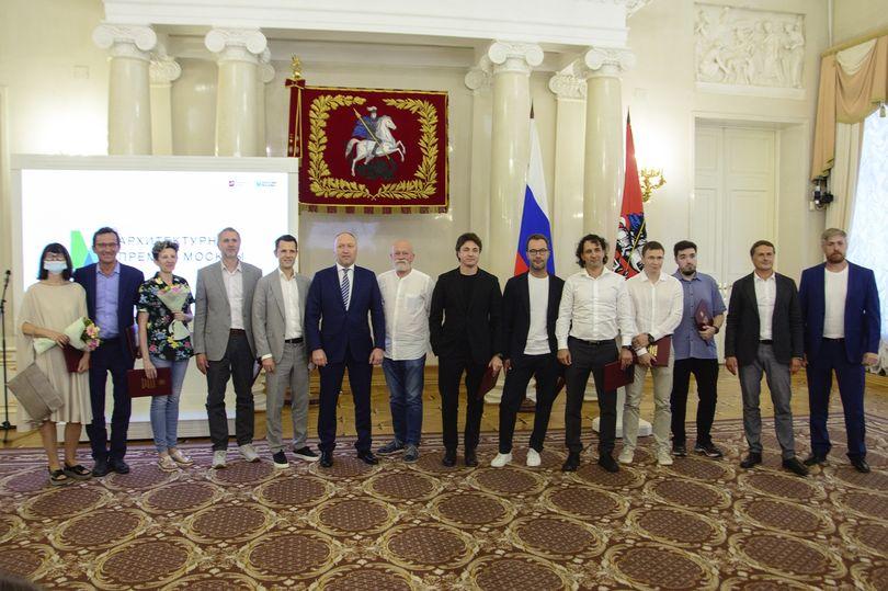 Награждение лауреатов Архпремии Москвы – 2021