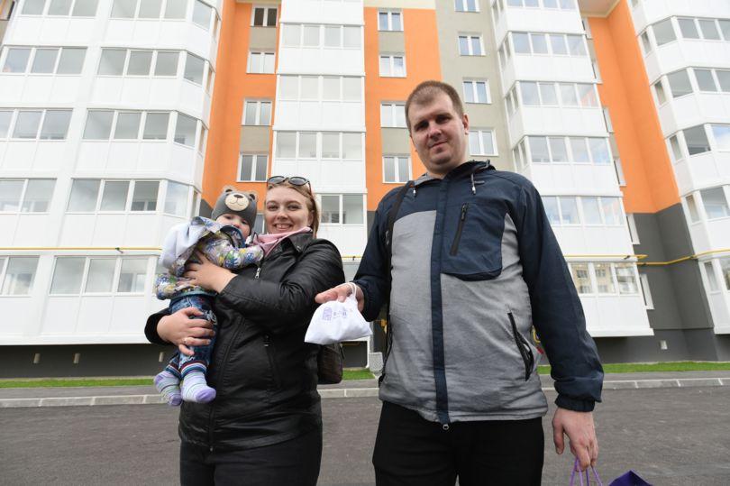 Передача ключей собственникам квартир в ЖК «Белый сад»