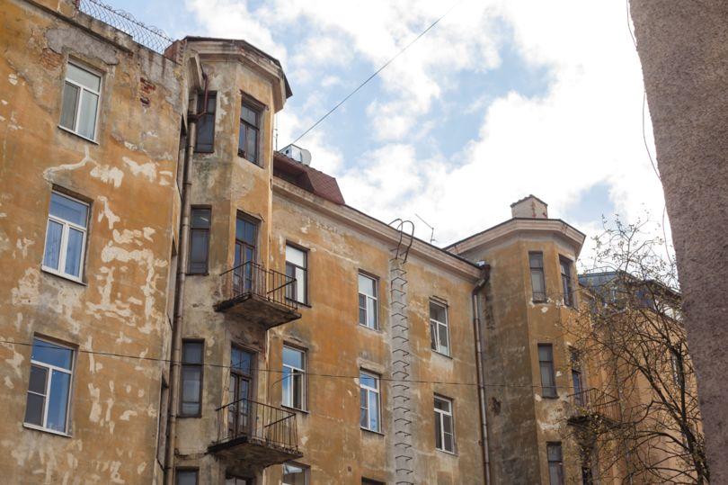 Дом, требующий капитального ремонта