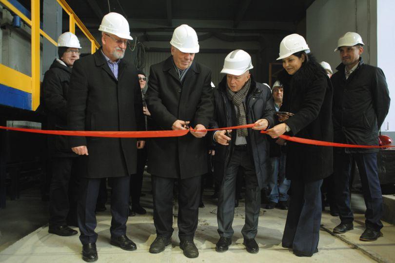 Открытие новой универсальной линии по производству железобетонных стеновых панелей и плит перекрытий