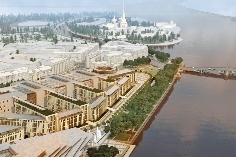 Нереализованный проект Судебного квартала на Тучковом буяне