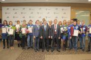 Награждение победителей и финалистов конкурса профессионального мастерства для инженерно-технических работников