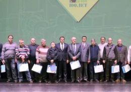 Торжественное мероприятие в честь 100-летнего юбилея Пушкинского машиностроительного завода