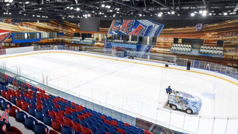 Хоккейный город СКА