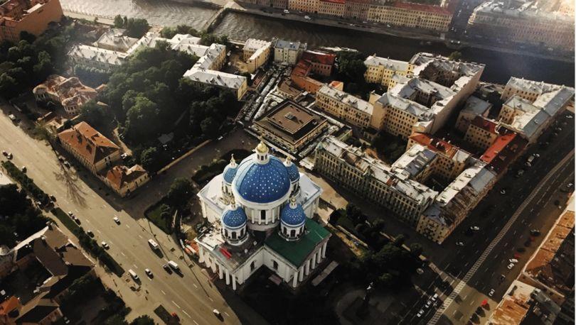 Троицкий рынок, вид сверху