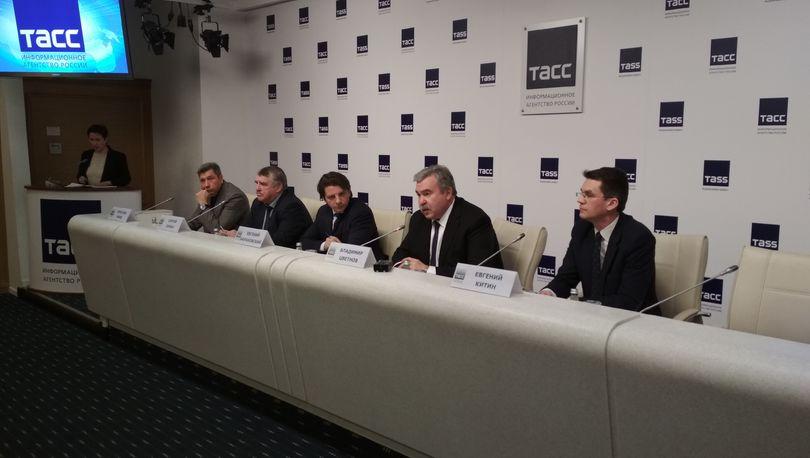 пресс-конференция Роскапстрой