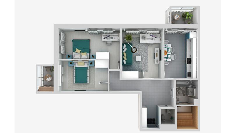 Европланировка квартиры