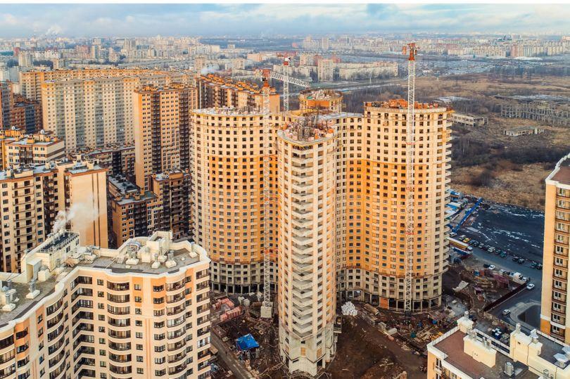 Новые жилые комплексы Санкт-Петербурга