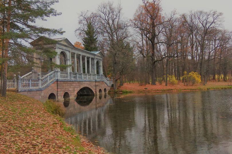 Парк в Пушкине