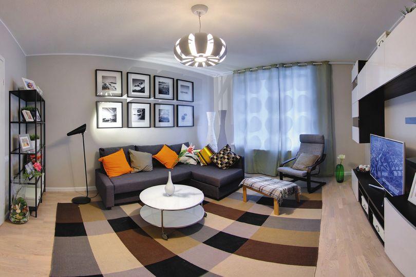отделка современной квартиры 040219