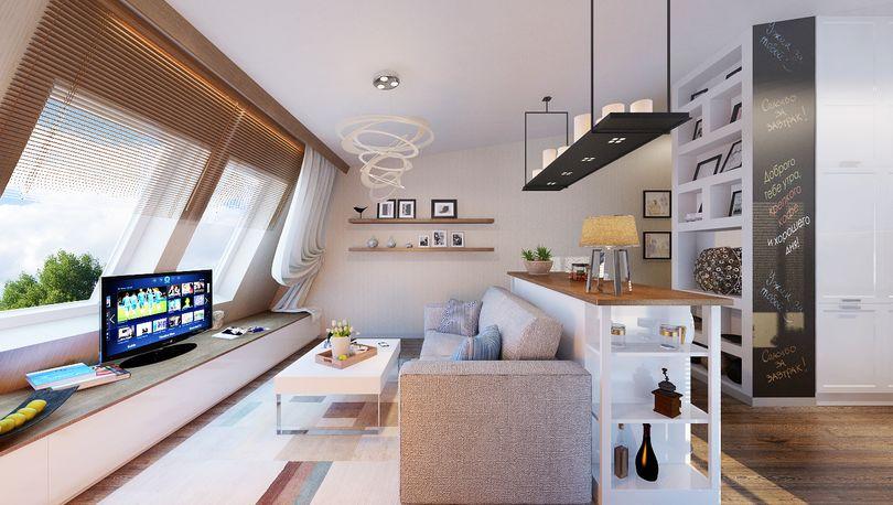 Квартира в финском стиле