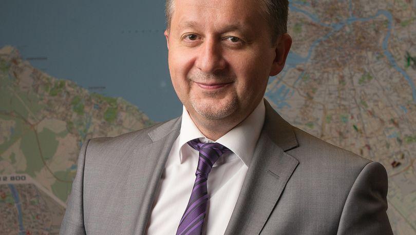 Михаил Демиденко - председатель Комитета по строительству Петербурга