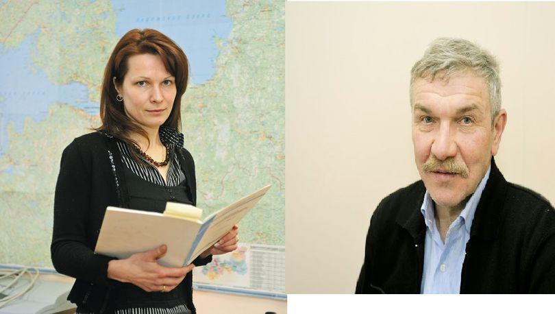 Антон Устинов и Ольга Ходкина