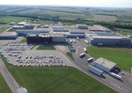 Мясоперерабатывающий завод компании «Мираторг» в селе Черницыно Курской области