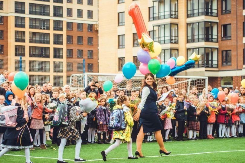 Торжественная церемония открытия Новосельской общеобразовательной школы