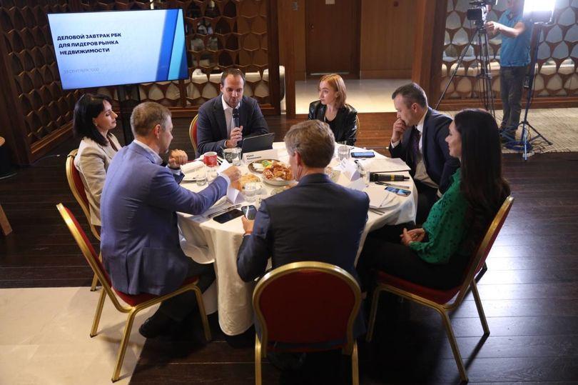 Деловой завтрак для лидеров рынка недвижимости