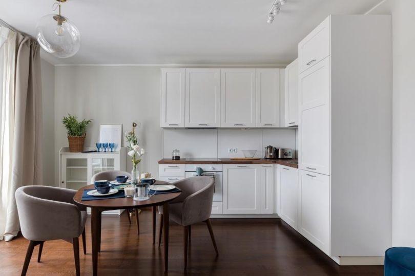 квартиры со встроенными кухнями и бытовой техникой ИКЕА