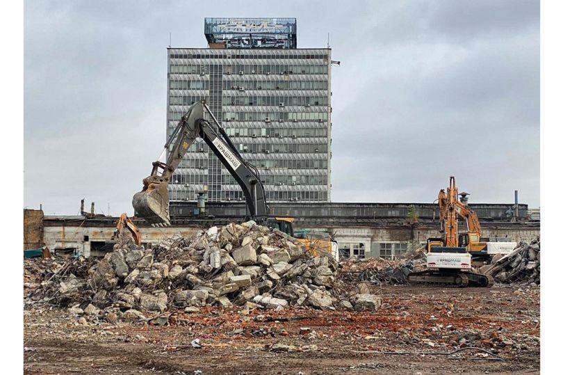 Демонтаж здания