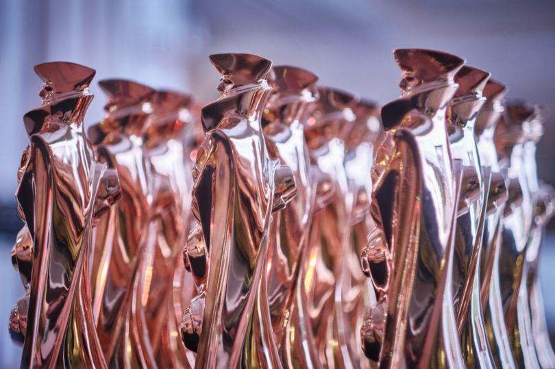 Статуэтки лауреатам конкурса «Золотой Трезини»