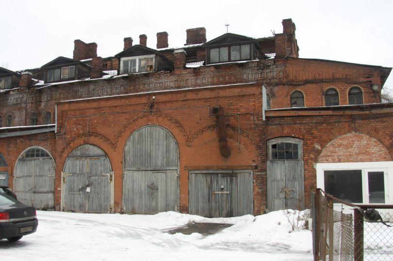 территория завода Красный выборжец