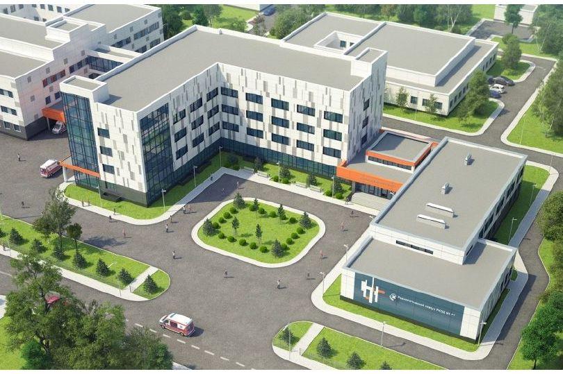 Проект здания онкодиспансера