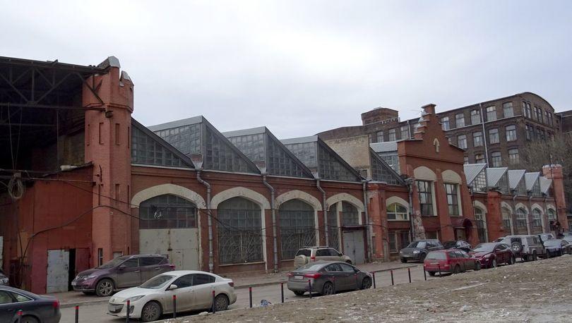 Здание малярной мастерской