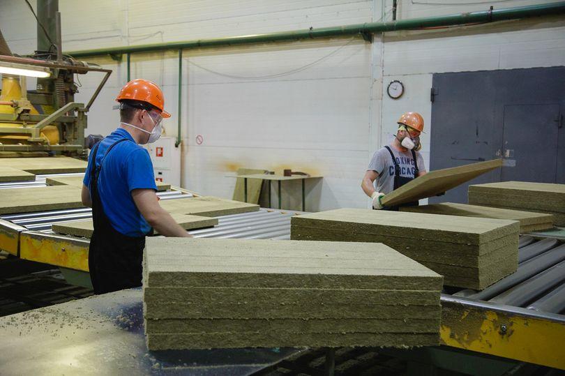 Завод каменной ваты