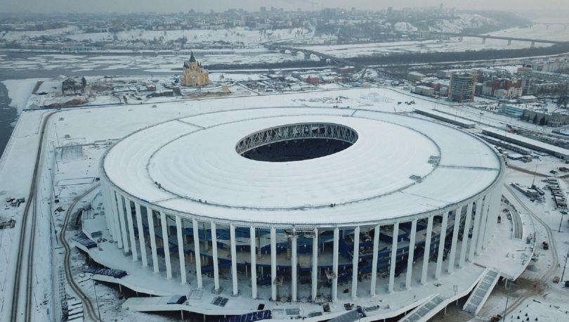 стадион в Нижнем