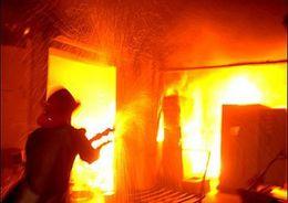 25 человек эвакуировали  из-за пожара на Пестеля