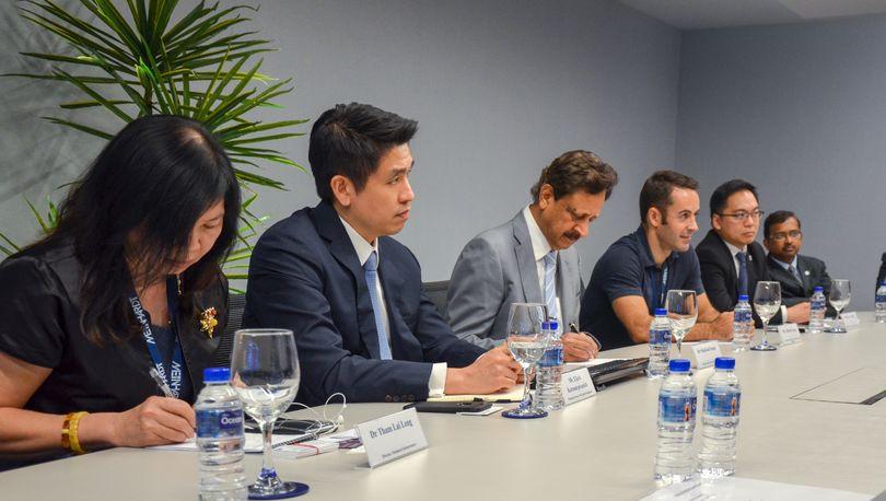 Встреча с представителями компании