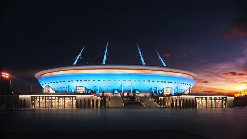 Монтаж крыши стадиона на Крестовском завершится в апреле