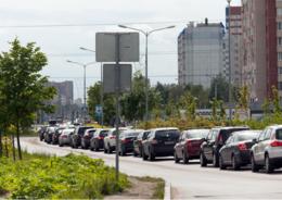 Власти Ленобласти придумали,  как разгрузить въезд в Мурино