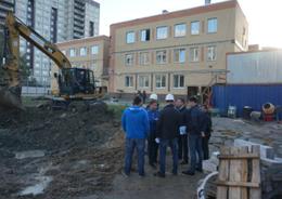 Строительство детсада на ул. Новоселов взяли на контроль