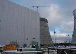 В здание турбины первого энергоблока ЛАЭС-2 подано тепло по постоянной схеме