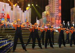 «День строителя» отметят концертом в «Ледовом дворце»