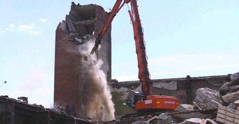 демонтаж зданий арасар