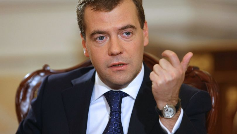 Дмитрий Медведев - премьер-министр РФ