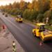 Гостилицкое шоссе одевается в новый асфальт