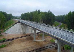 Путепровод над трассой М-11 построят за 129 млн рублей