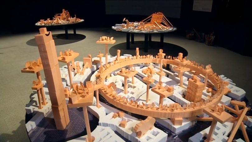 Модель Санкт-Петербурга в 2103 году