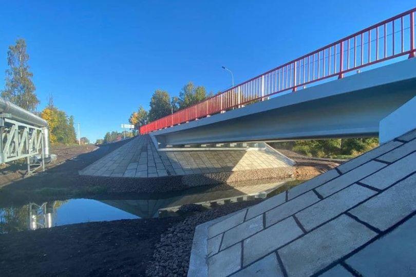 мост через р. Унтерниска