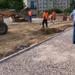 «Парк героев пожарных» в Волосовском районе преображается