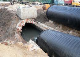 В Зеленогорске продолжается реконструкция канализационного коллектора