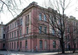 здание бывшей богадельни купцов первой гильдии Ф.М. Садовникова и С.Г. Герасимова на Каменноостровском проспекте